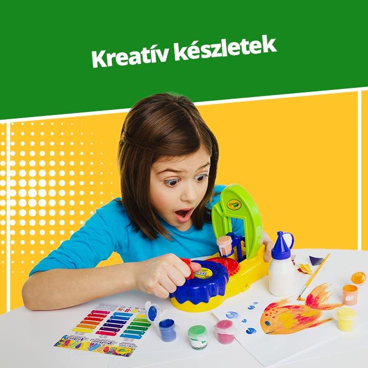 Crayola Kreatív készletek