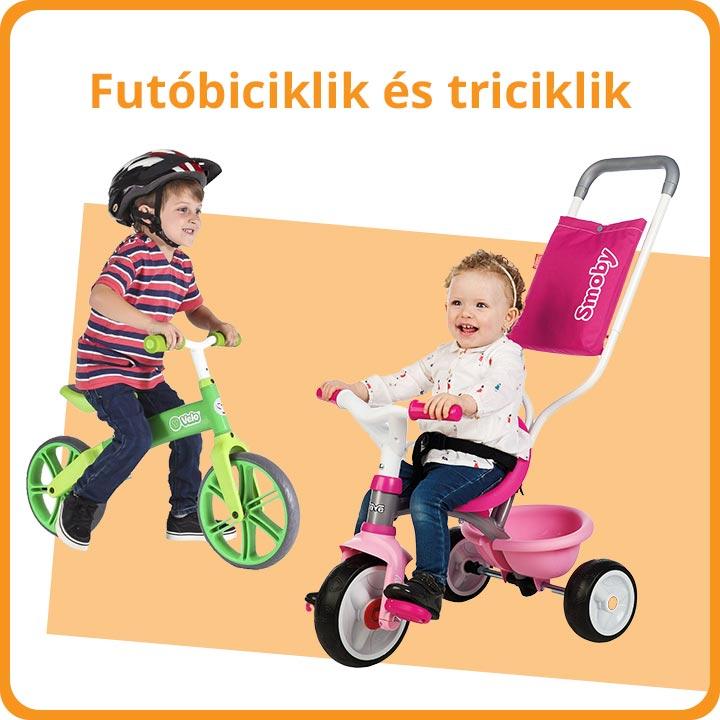 Futóbiciklik és triciklik