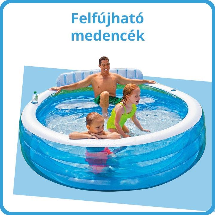 Felfújható medencék