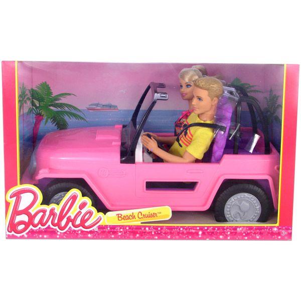 Barbie Strand Terepjaro Auto 2 Babaval Jateknet Hu