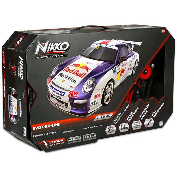 Nikko 1 14 Porsche 911 Gt3 Rs Taviranyitos Rc Auto Jatekbolt Hu