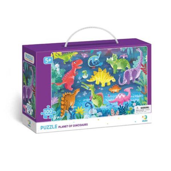 Dodo: Dínók puzzle - 100 darabos
