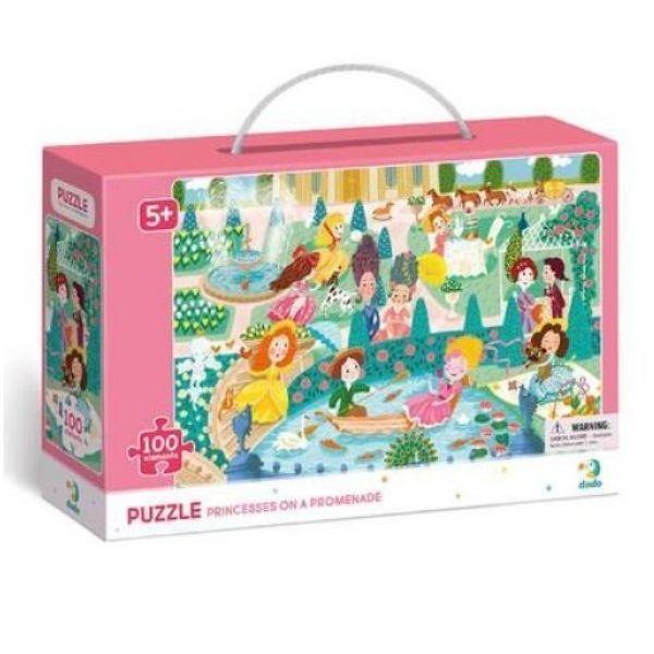 Dodo: Hercegnők puzzle - 100 darabos