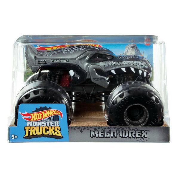 Hot Wheels: Monster Trucks - Mega Wrex, 1:24