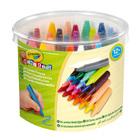 Crayola Mini Kids: 24 buc. cretă pastel Jumbo