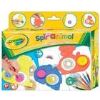 Crayola: Şabloane cu animale pentru spirale