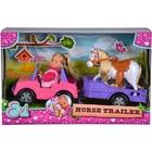 Păpuşa Evi: Set transport cai
