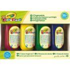 Crayola Mini Kids: Set vopsea lavabilă pentru pictat cu degetele