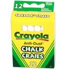 Crayola Táblakréta fehér 12 db