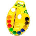 Crayola 12 db vízfesték palettán 98434