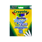 Crayola: Markere lavabile cu vârf gros