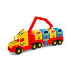 Wader: Super Truck camion cu containere de gunoi - 80 cm, diferite culori
