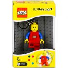 Lego világítós kulcstartó kék