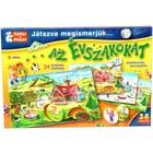 Prin joc, cunoaștem anotimpurile - joc educativ în lb. maghiară