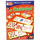 Prin joc, cunoaștem cifrele - joc educativ în lb. maghiară
