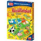 Prin joc, cunoaștem animalele domestice - joc educativ în lb. maghiară