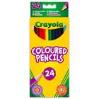 Crayola: 24 db extra puha színes ceruza