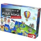 Călătorie în jurul Pământului pentru copii - joc de societate în lb. maghiară