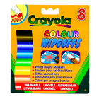 Crayola: 8 buc markere lavabile pentru tablă albă
