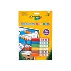 Crayola: Carte de colorat cu numere şi markere lavabile