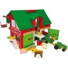 Wader: Play Farm játékszett - kétszintes