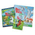 Pici Pacik PC játék ajándék lófigurával és színező könyvvel