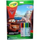 Crayola: 32 lapos kifestő mini filcekkel - Verdák 2