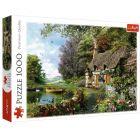 Trefl: Căsuța de pe lac - puzzle cu 1000 piese