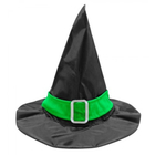 Zöld szalagos boszorkány kalap - univerzális méret