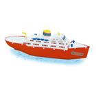 Europa nagy műanyag játékhajó - 50 cm-es