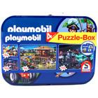 Playmobil - 4 az 1-ben puzzle készlet fémdobozban