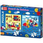 Bogyó si Babóca: Pestele curcubeu - puzzle cu 12 si 20 piese