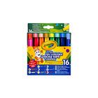 Crayola: 16 buc. markere lavabile cu vârfuri speciale