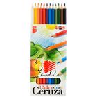 ICO Süni színes ceruza készlet - hajlékony - 12 db-os