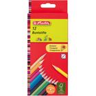 Herlitz: creioane colorate triunghiulare - 12 buc.