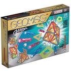 Geomag Glitter: Set cu sclipici - cu panele - 68 piese