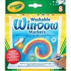 Crayola: Markere pentru ferestre - 8 buc.