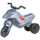 Műanyag Superbike Mini motor - szürke