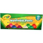 Crayola: Vopsele lavabile 10 buc.