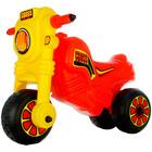 Cross motocicletă fără pedale - roşu-galben