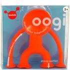 Moluk Oogi Junior: piros gumi figura, tapadókorongos végtagokkal