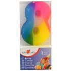 Lumânare numărul 8 de culoare curcubeu