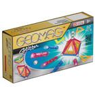Geomag Glitter: Set cu sclipici - 22 piese