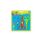 Crayola Mini Kids: Set cu 3 buc. foarfece de plastic