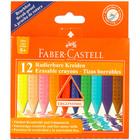 Faber-Castell 12 db-os radírozható vékony zsírkréta készlet