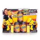 X- Shot: Micro set 2 pistoale cu proiectile de burete