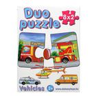 Duo Puzzle 8 x 2 darabos - közlekedés