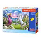 A hercegnő és az unikornis 180 darabos puzzle