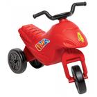 Mini-motocicletă Superbike fără pedale - roşu