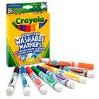 Crayola: markere extra-lavabile, groase - 8 buc.